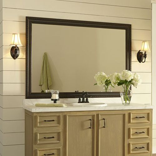 Providence Oiled Bronze Bathroom Mirror Design Modern