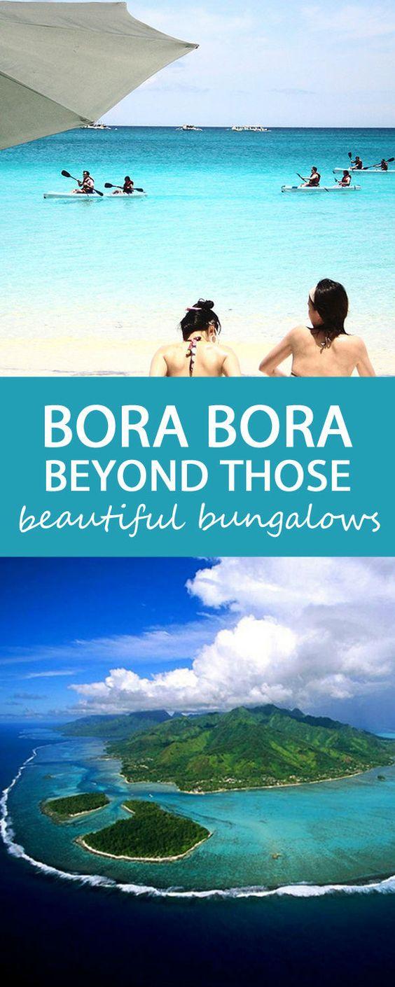 There S More To Bora Bora Than Bungalows Beautiful I