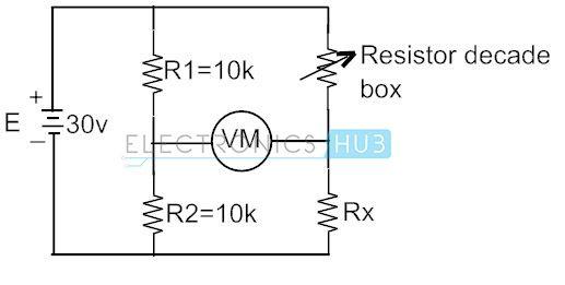 Wheatstone Bridge Circuit Circuit Theory Wheatstone Bridge Circuit