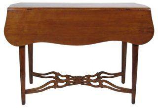 19th-C. American Cherry Pembroke Table