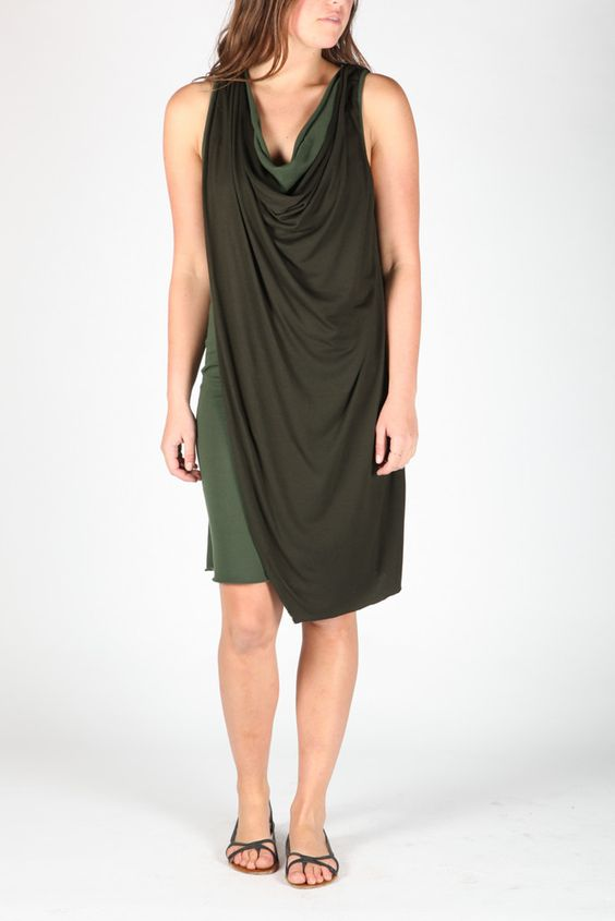 The Danea dress from Silent Damir Doma | My Style- Green with Envy ...