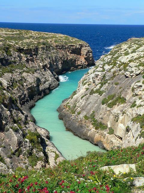 La isla de Gozo, Malta