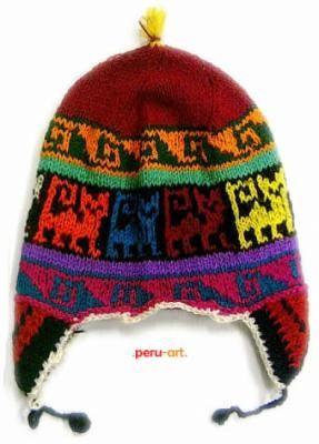 Knitting Pattern Peruvian Hat : Peruvian hat ANDEAN STYLE FASHION Pinterest Hats ...