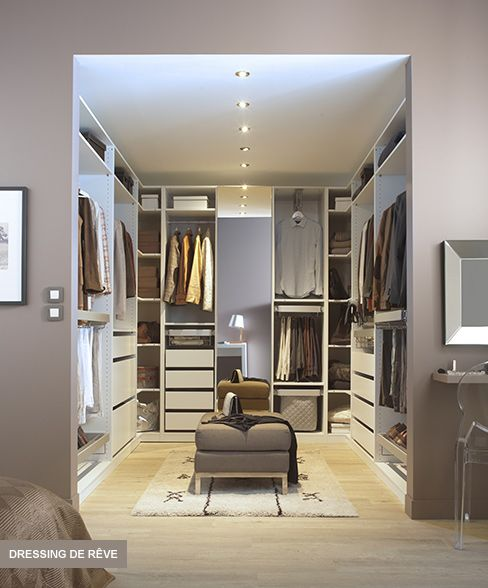idee dressing id e dressing par castorama caisson darwin pour un dressing de r ve dressing. Black Bedroom Furniture Sets. Home Design Ideas