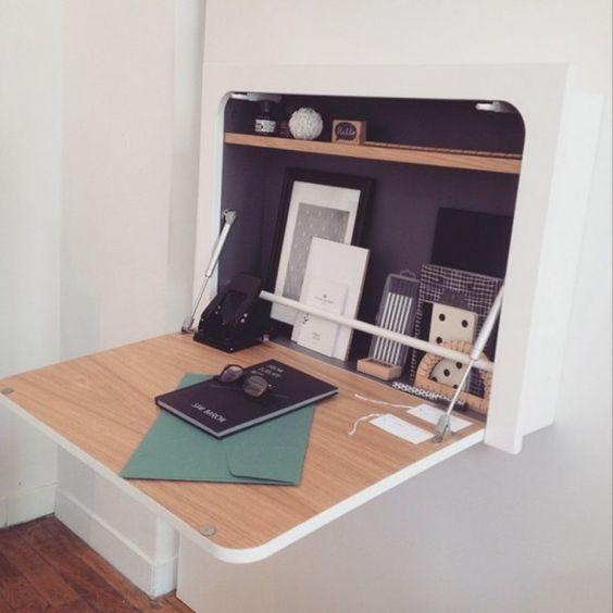 Un bureau gain de place