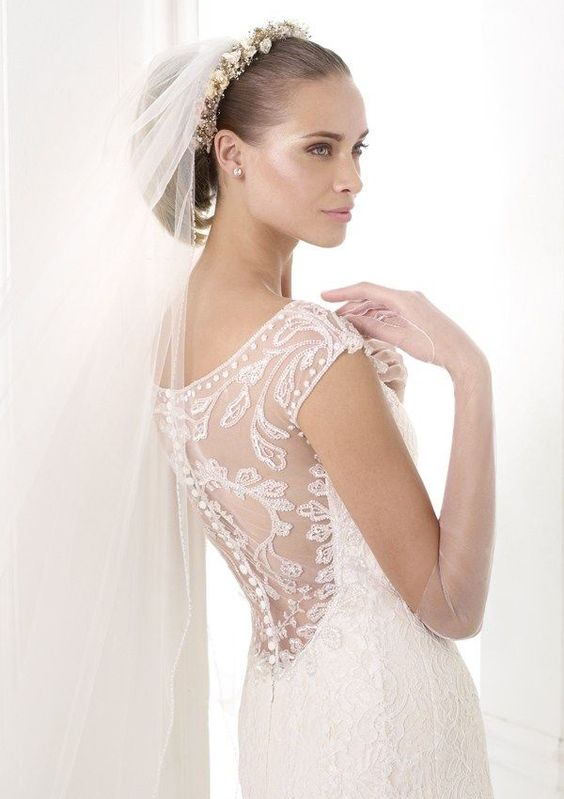 Vestido de noiva de Pronovias. #casamento #vestidodenoiva #costas