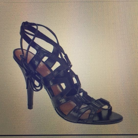 ALDO Nollora leather heel sandals  Leather Heels Tied Up and