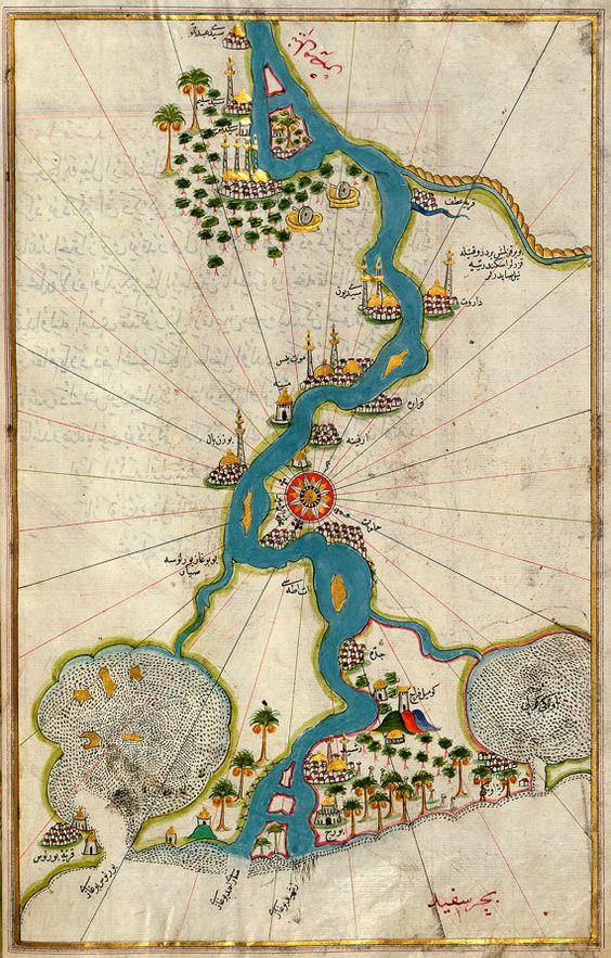 Mapa de Piri Reis, Turquía