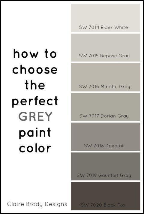 How To Choose The Perfect Grey Paint Color Perfect Grey Paint