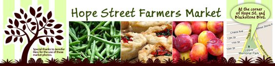 Providence's own Hope Street Farmer's Market. Support your local farmers!