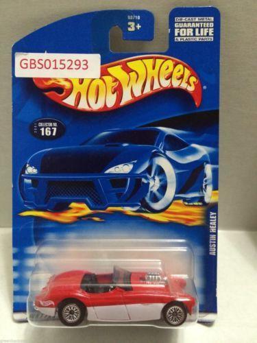 (GBS015293) - Mattel Hot Wheels Toy Car - Austin Healey