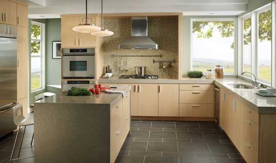 Modern Light Wood Kitchen Cabinets stock kitchen cabinets cream | #choiceisyours | pinterest | stock