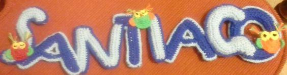 cartel en crochet