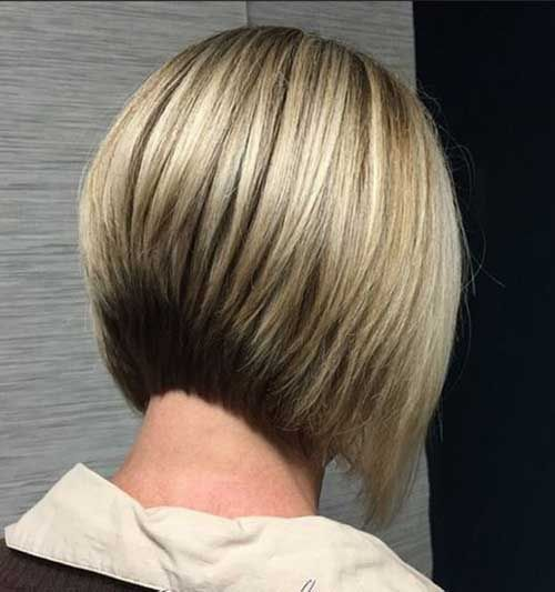 Top Graduated Bob Hairstyles You Will Love Graduated Bob Hairstyles Short Hair Styles Easy Back Of Bob Haircut