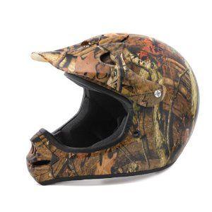 Camo 4 Wheeler Helmet un used | Raider MX Mossy Oak Infinity Off-Road Helmet (Large)