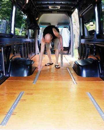 Sprinter Conversion Floor Ceiling Fans And Awnings