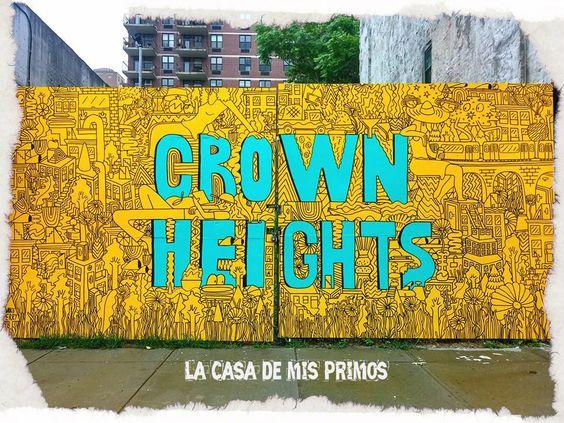 La Prima Ariel nos manda estas fotos de un mural que acaban de pintar al lado de su apartamento, en su barrio Crown Heights de Brooklyn. Gracias Prima por mantenernos al día de lo que ocurre por las calles de Brooklyn  ¿Qué os parece? ¿Os gusta el resultado? #lacasademisprimos #lacasademisprimosenny #nuevayork #apartamentos #tours #crownheights