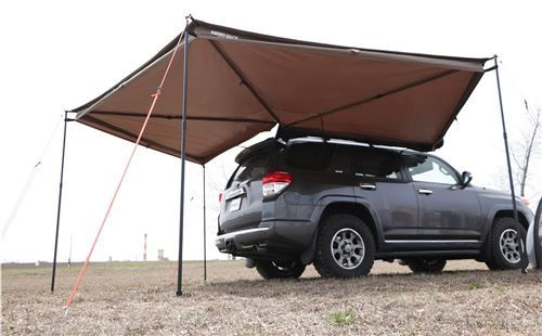 Rhino Rack Batwing Awning Roof Rack Mount Bolt On Driver S Side 118 Sq Ft Rhino Rack Vehicle Awning Roof Roof Rack Canvas Awnings