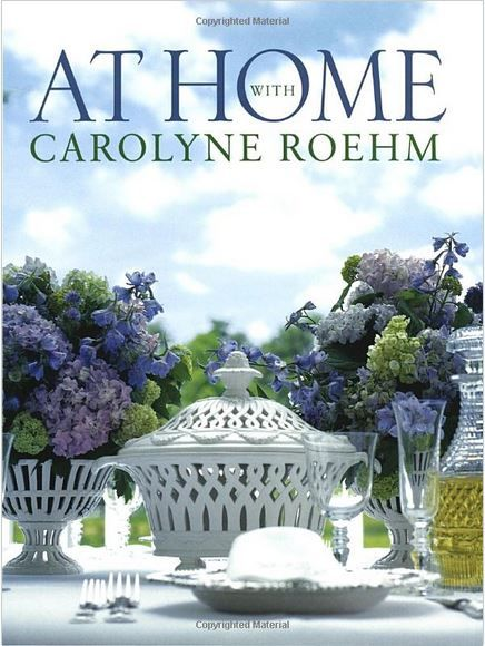 At Home With Carolyne Roehm | http://betweennapsontheporch.net/in-the-bnotp-library-at-home-with-carolyne-roehm/: