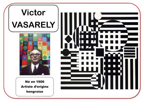 Victor Vasarely - Portrait d'artiste
