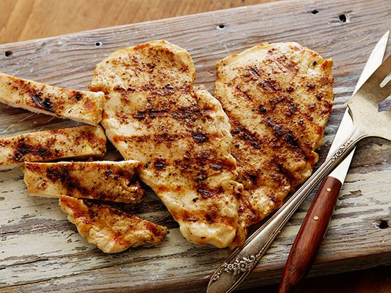 Cumin Grilled Chicken Breasts #myplate #protein