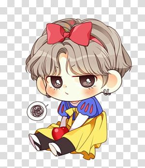 Girl Cartoon Bts Chibi Fan Art Drawing K Pop Chibi Transparent Background Png Clipart In 2020 Bts Drawings Cute Cartoon Wallpapers Bts Chibi