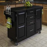 Found it at Wayfair - Kitchen Cart with Granite Top