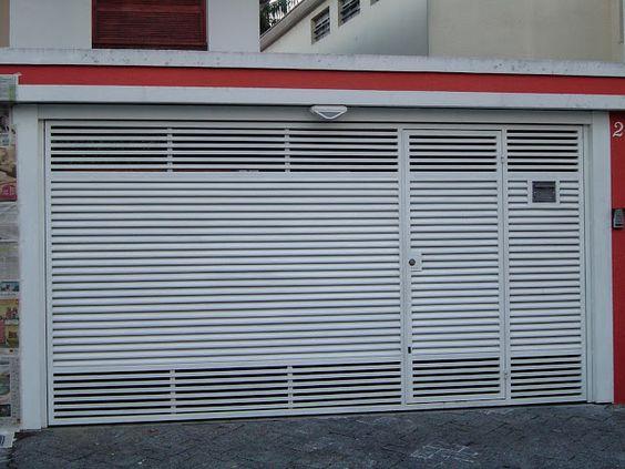 Best ideas about reforma garagem, garagem basculante e paisagismo ...