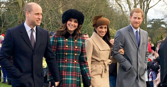 Meghan Markle joined her fiance, Prince Harry, Prince William, Duchess Kate and the royal family for a Christmas service at Sandringham — pics