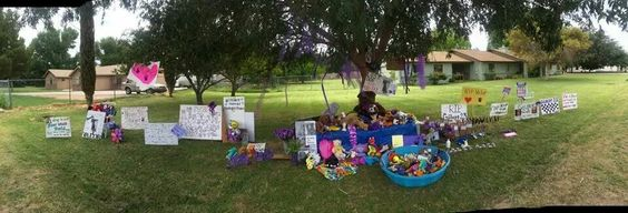 The memorial today...7/9/14