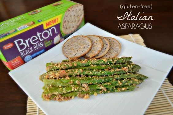 gluten-free Italian Asparagus #recipe made with Breton Bean with Onion ...
