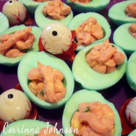 Deviled Eggs Halloween Recipe