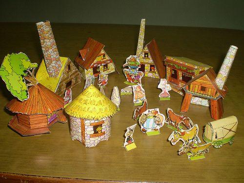 Asterix Theme Navaratri Golu Pinterest