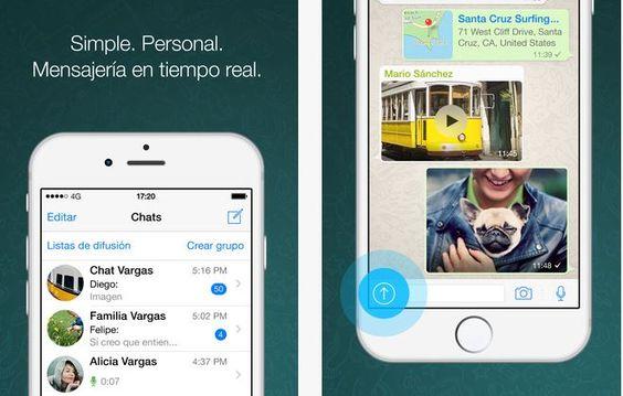 Nueva actualización de WhatsApp para iOS - http://www.actualidadgadget.com/nueva-actualizacion-de-whatsapp-para-ios/