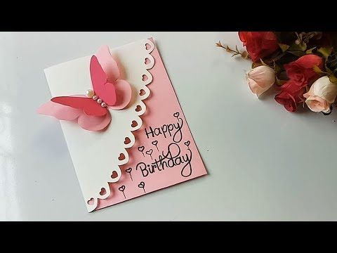 How To Make Special Butterfly Birthday Card For Best Friend