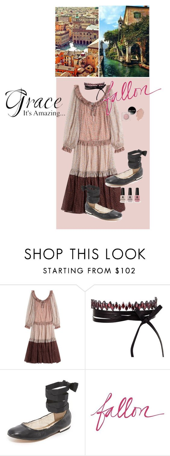 """""""Grace Its Amazing"""" by lolly-p ❤ liked on Polyvore featuring Zimmermann, Fallon, Sam Edelman and Victoria's Secret"""