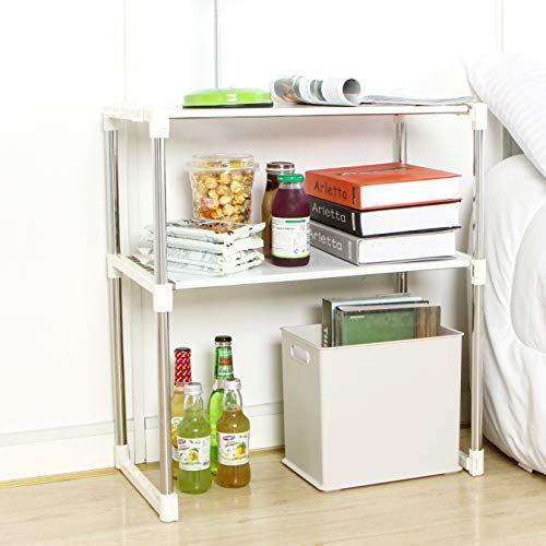 Kitchen Microwave Rack Storage