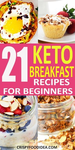 21 Easy Keto Breakfast Recipes For Beginners To Lose Weight