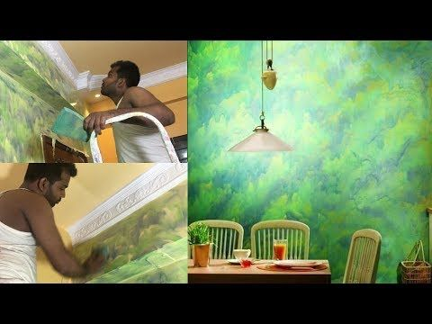 How To Asian Paint Royale Play Texture Magic Design Tiles Type Of Wall Painting Design Exterior Youtube Asian Paints Asian Paints Royale Wall Paint Designs