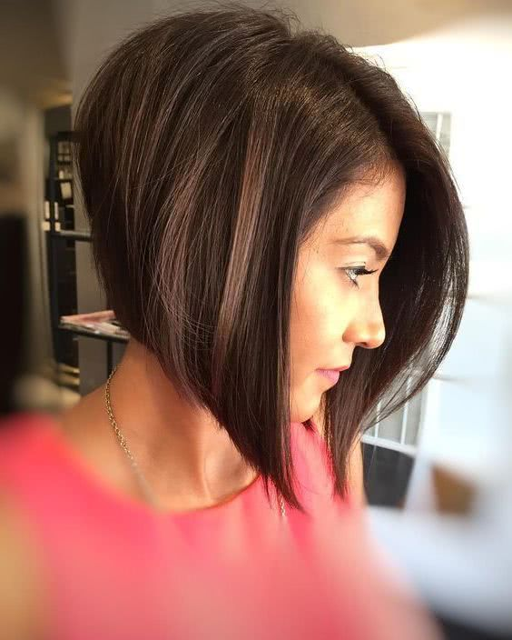 Bob With Shaved Side Shaved Side Hairstyles Asymmetrical Bob