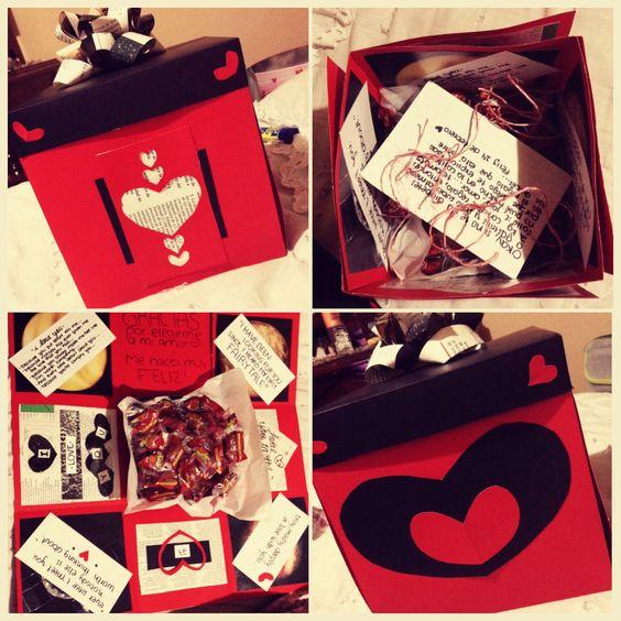 I Made This Exploding Box For My Boyfriend Last Valentine