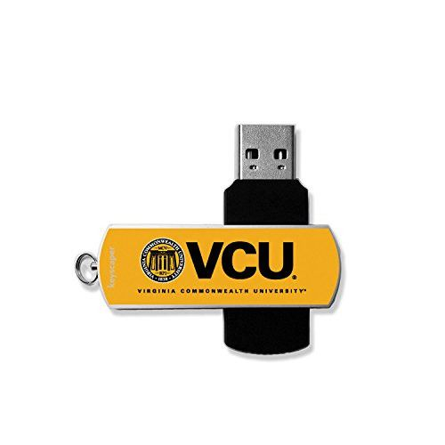 Virginia Commonwealth University USB 8GB Flash Drive Licensed by the NCAA & Printed by keyscaper ®