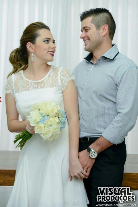 Buque - Rosas - Hortênsia - Rosa e Azul - Casamento militar - Casamento Ana Laura e Mateus