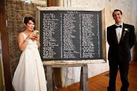 Risultati immagini per cavalletto tableau matrimoni