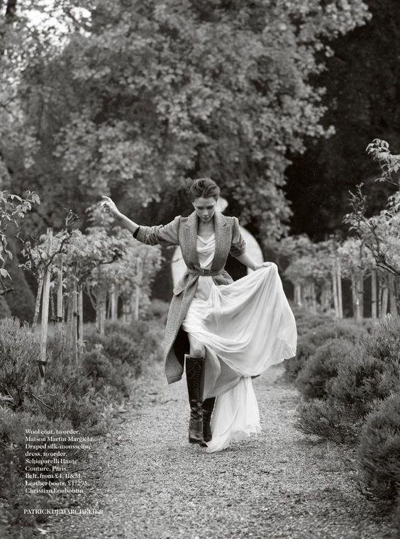 Vogue UK August 2014 | Victoria Beckham by Patrick Demarchelier