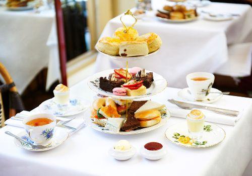 Afternoon Tea at Boulevard Brasserie - Covent Garden