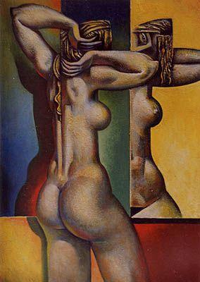 A Woman At A Window, 1992 Georgy Kurasov: