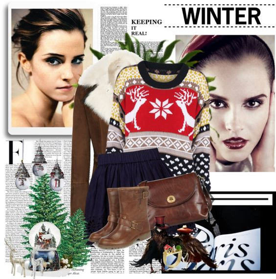 """""""Winter ♥"""" by lalalalottie ❤ liked on Polyvore"""