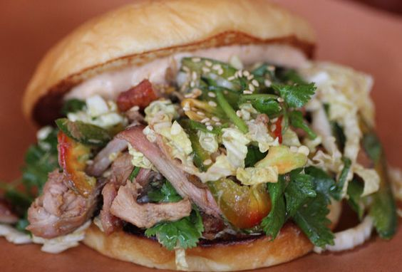 Spicy Vietnamese Chicken 'Slaw' Sandwich