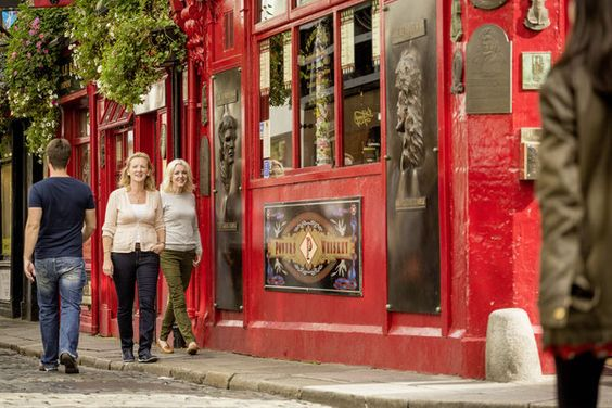 Temple Bar à Dublin - Toruism Ireland - Rob Durston